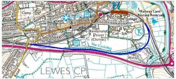 Railfuture's Lewes Horeshoe