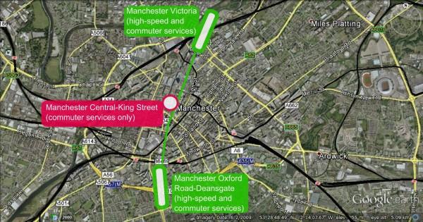 An Alternative Cross-Manchester Tunnel