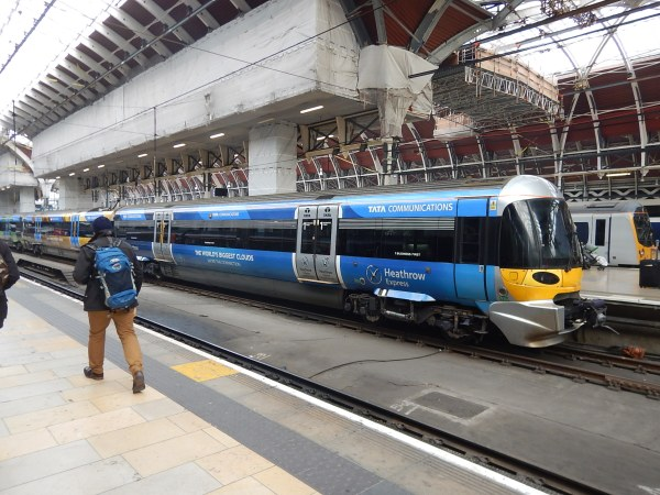 Heathrow Express Class 332 Trains Are Back
