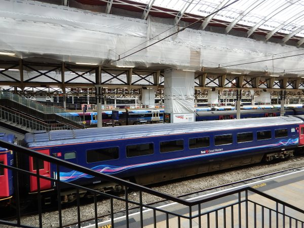 Electrification At Paddington