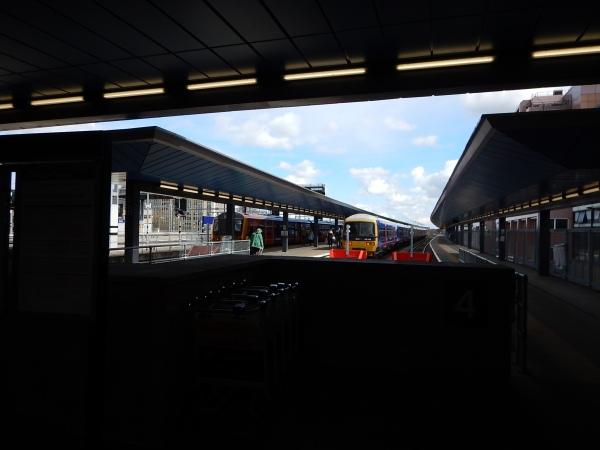 Bay Platforms 4, 5 and 6 At Reading Station