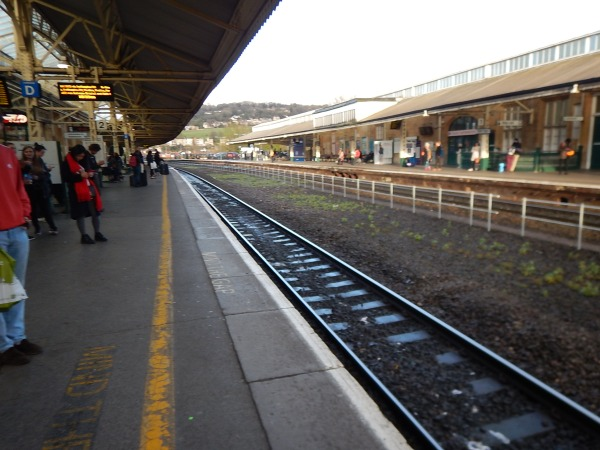 Lines Through Bath Spa Station