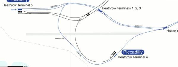 Heathrow Rail Lines