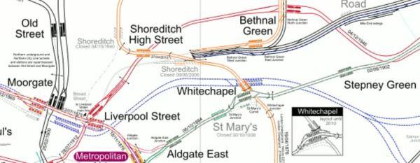 Lines Through Whitechapel