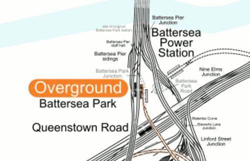 Lines Between Battersea And Victoria