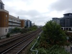 Looking South From The Platform At Imperial Wharf Station