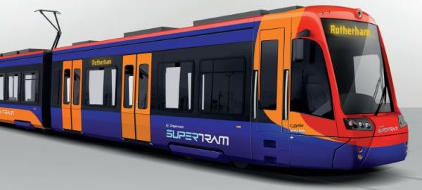 Class 399 Tram/Train Visualisation