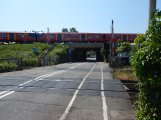The Elm Road Level Crossing