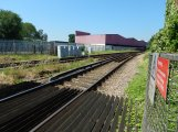 Looking Towards Norbiton Station - Note The Discontinuous Conductor Rail