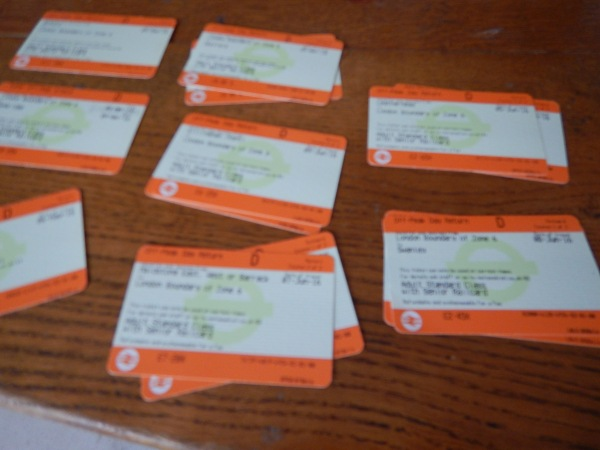 Orange Rail Tickets