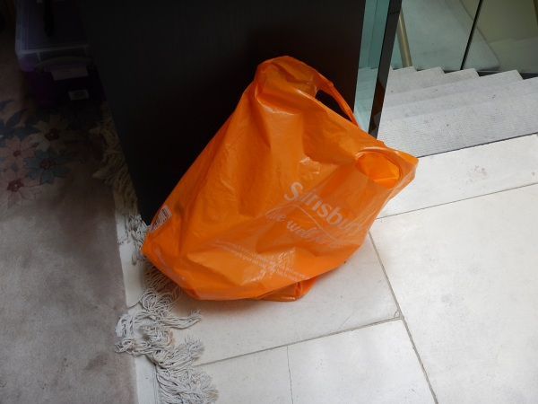 A Reuseable Plastic Bag From Sainsburys