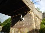 A Well-Designed Under Bridge Overhead WireSupport