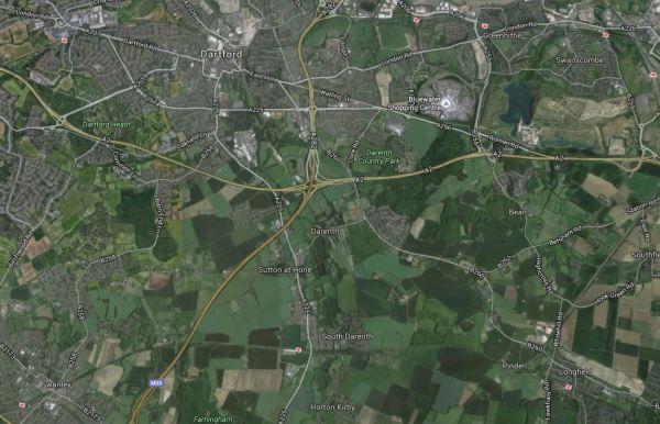 Swanley Station To Ebbsfleet International Station