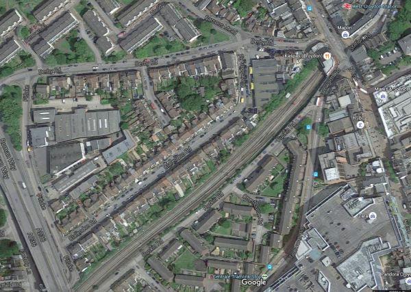 The Reversing Siding At West Croydon Station