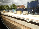 Platform Extension Work At Harold Wood