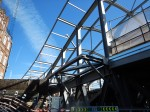The Frame Of The New Roof At Whitechapel Station Takes Shape