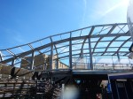 The Frame Of The New Roof At Whitechapel Station TakesShape