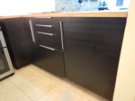 Storage Cupboard, Drawers And  Fridge