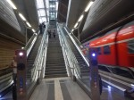 Descending To The Trains At Leipzig Hbf Station