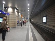 The Island Platform At Leipzig Hbf Station