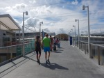 Custom House Station - The New Pedestrian Bridge