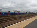 Hornsey Station - A Train In Platform 1 Vewed From Platform 2