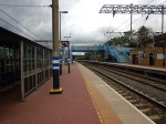 Platforms 1 And 2 At Alexandra Palace Station With Two Slow Lines In Between