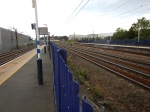 The Fast Lines Between The Two Platforms At Hornsey Station