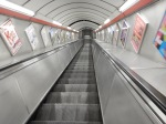 Going Down To The Northern Line At Moorgate Station