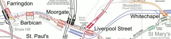 Crossrail Through The City
