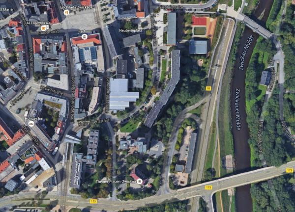 Zwickau Town Centre