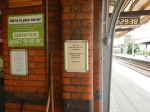 Witham Station -A Good Notice AboutLitter