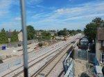 Looking East From The Harrow Manorway Bridge