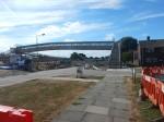 The New Footbridge Over The Railway