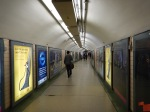 A Pristine Pedestrian Tunnel With No Blue