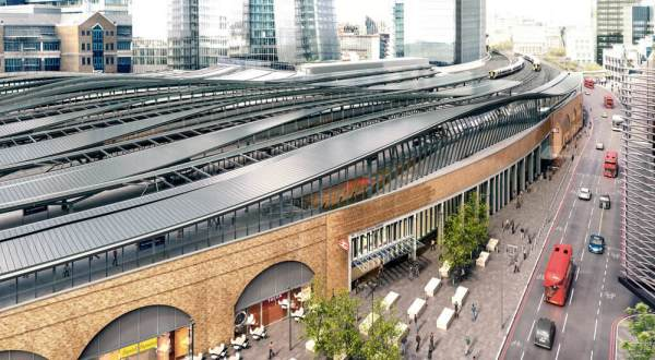London Bridge Ststion And Tooley Street