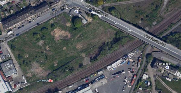 Bradford Low Moor Station