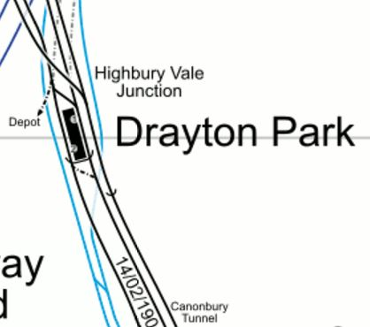 Drayton Park Station
