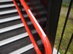 Braille Signs On The Handrail