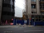 The Bank Station Site From King William Street