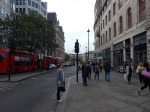 Outside Charing Cross Station