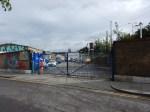 Hackney Wick Station Work Site