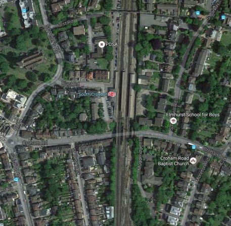 South Croydon Station