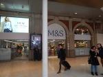 Mark & Spencer In Waterloo Station