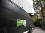 Crossrail Works In Finsbury Circus Gardens