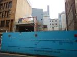 Crossrail Works In Blomfield Street