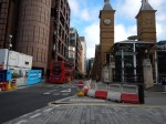 Broadgate On The Left And Liverpool Street Station On The Right