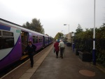 Arrival At Clitheroe Station
