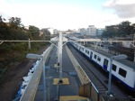 The View From The Footbridge At Ilford Station