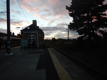 Platform 4 At Manningtree Station